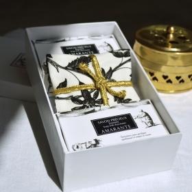 COUSSIN PARFUMÉ & 2 SAVONS JASMIN